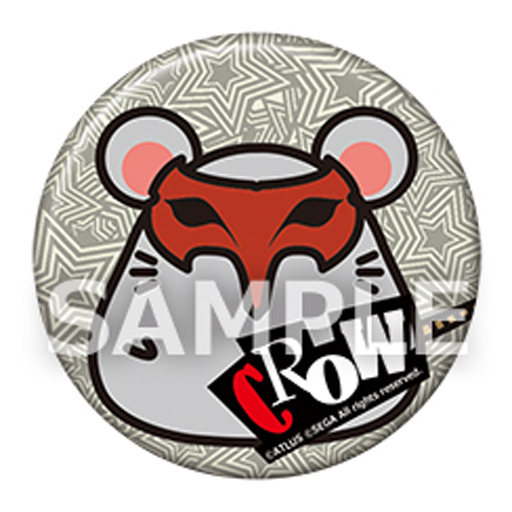 "Akechi Goro Picaresque Mouse can badge ""Persona 5"""