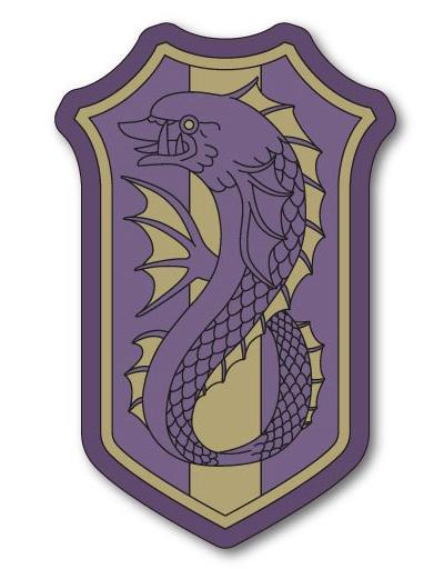 【中古】バッジ・ピンズ(キャラクター) 紫苑の鯱 「ブラッククローバー ピンズコレクション」