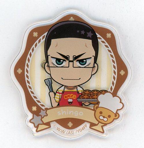 金城真護 「弱虫ペダル GLORY LINE 田所パンcafe in animatecafe トレーディングアクリルバッジA」