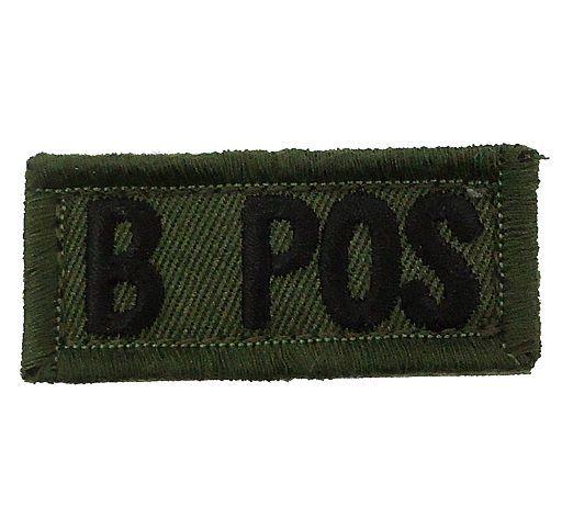 新品 自衛隊・ミリタリーグッズ/ワッペン・部隊章 陸上自衛隊 POSワッペンマジック付き B型