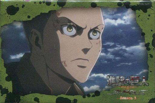 コニー・スプリンガー 「進撃の巨人 in JOYPOLIS -Season3- 第1弾 トレーディングスクエア缶バッジ」