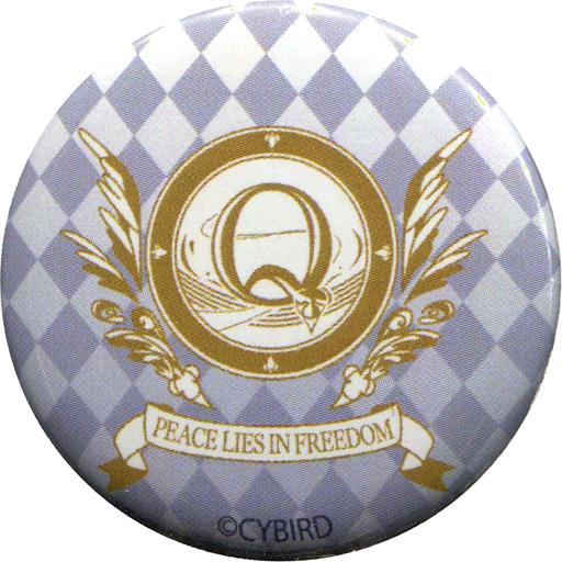 シリウス=オズワルド 「イケメン革命◆アリスと恋の魔法 CYBIRD SHOP ブラインドミニ缶バッジ」