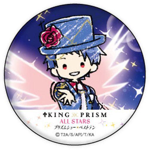 一条シン(右手前) 「缶バッジ KING OF PRISM ALL STARS -プリズムショー☆ベストテン- 02.場面写ver. グラフアートデザイン」