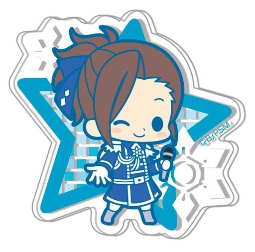 "Watanabe Minori ""Idolmaster SideM es Series nino Clear brooch collection 1st stage"""