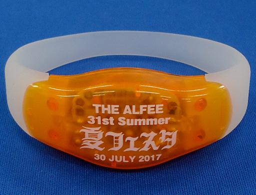 【中古】アクセサリー(非金属)(男性) THE ALFEE LEDシリコンブレス(オレンジ) 「Best Hit Alfee 2017 31st Summer 夏フェスタ」 入場特典