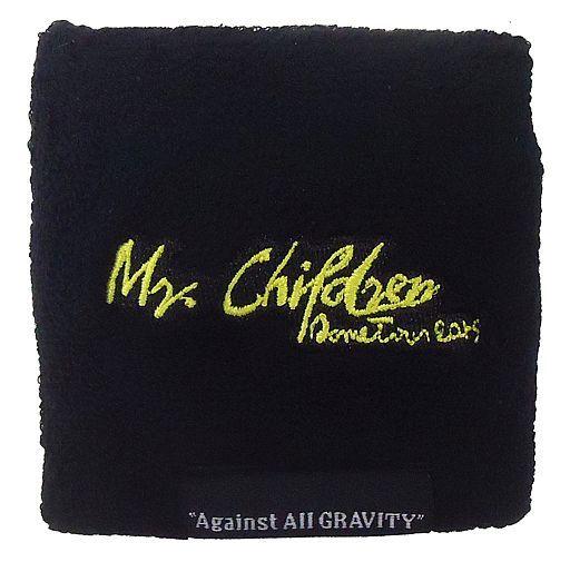 "Mr.Children メモリアルカラーリストバンド(ブラック×イエロー) 「Mr.Children Dome Tour 2019 ""Against All GRAVITY""」 大阪会場限定"