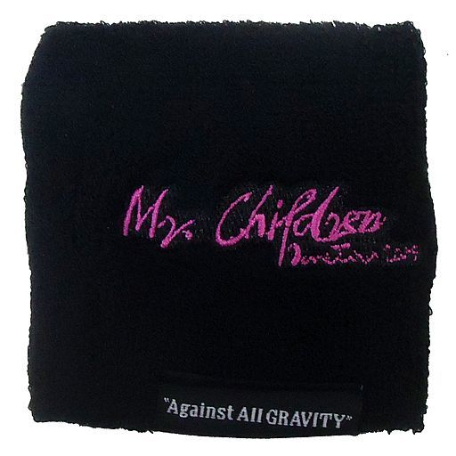 "Mr.Children メモリアルカラーリストバンド(ブラック×ピンク) 「Mr.Children Dome Tour 2019 ""Against All GRAVITY""」 東京会場限定"