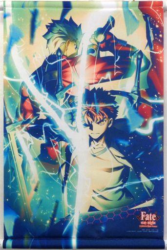 衛宮士郎&アーチャー A3タペストリー 「Fate/stay night [Unlimited Blade Works] Blu-ray Disc Box II」 早期予約特典