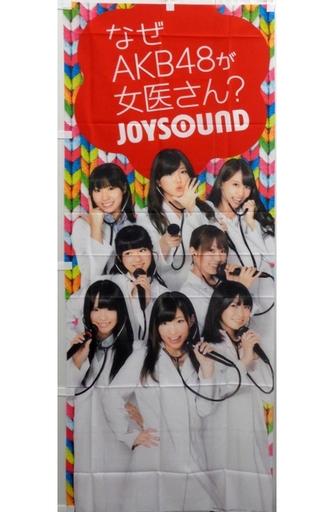 【中古】タペストリー(女性) AKB48 販促用のぼり(カラフル) 「AKB48ネクストガールズ×JOYSOUND」