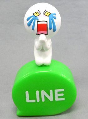 【中古】モバイル雑貨(キャラクター) ムーン(泣き) 「LINE キャッピーコレクション」