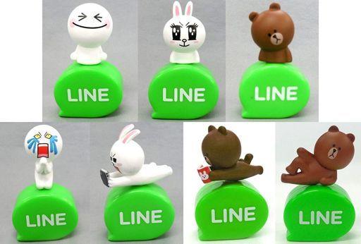 【中古】モバイル雑貨(キャラクター) 全7種セット 「LINE キャッピーコレクション」