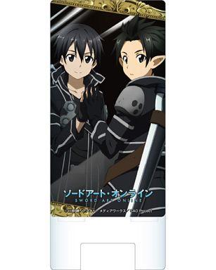 "A. Kirito (mirror) smartphone stand ""Sword Art Online"""
