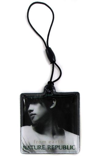 【中古】モバイル雑貨(男性) RAIN(ピ) 携帯クリーナー NATURE REPUBLIC ノベルティグッズ