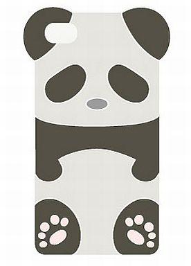 【中古】携帯ジャケット・カバー(キャラクター) パンダ スマフォケース for iPhone4s/4 「しろくまカフェ」