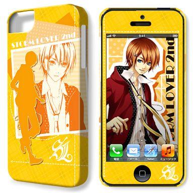 デザイン05(五十鈴一久) デザジャケット iPhone5ケース&保護シート 「STORM LOVER 2nd」