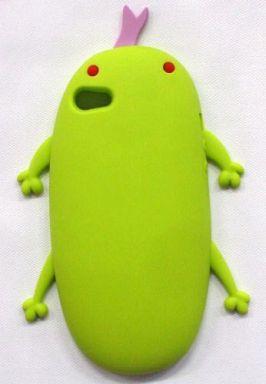 【中古】携帯ジャケット・カバー(キャラクター) オオサンショウウオさん(グリーン) シリコンスマートフォンケース(iPhone5用) 「マクロスF」