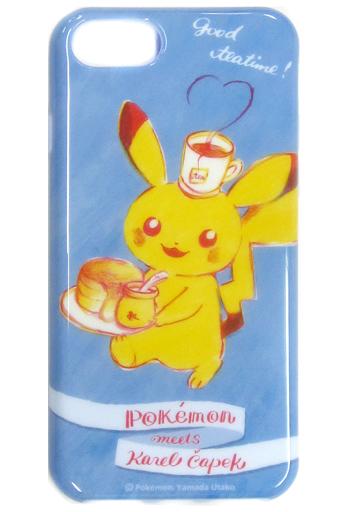 【中古】携帯ジャケット・カバー(キャラクター) ピカチュウ ソフトジャケット for iPhone8/7/6s/6 Karel Capek 「ポケットモンスター」 ポケモンセンター限定