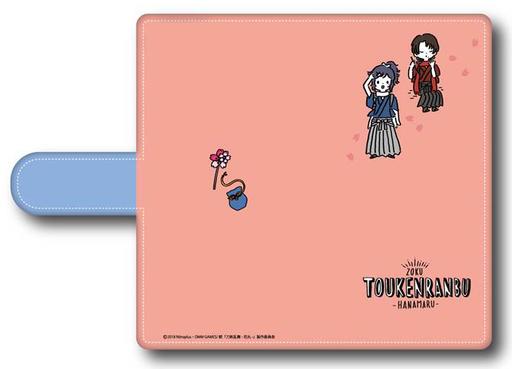 "A.Kashuu Kiyomitsu & Yamatonokami Yasusada Notebook type smartphone case multi-M size """" followed by Touken Ranbu-Hanamaru-"""