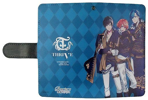 """02.THRIVE notebook type smartphone case (multi-type) """"B-PROJECT Invincible * Dangerous"""""""
