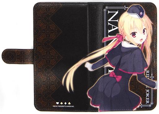 "Nanami Arihara Notebook Type Mobile Phone Case Free Size ""RIDDLE JOKER"" Limited to Yuzu Software Shop"