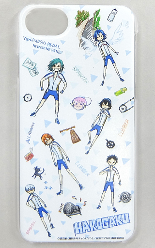 "02.Hakone Gakuen High School Graph Art Design Hard Case (for iPhone6 / 6s / 7/8) ""Yowamushi Pedal NEW GENERATION"""