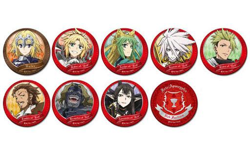 【新品】【ボックス】バッジ・ピンズ(キャラクター) 【ボックス】Fate/Apocrypha トレーディング合皮バッジ Vol.1