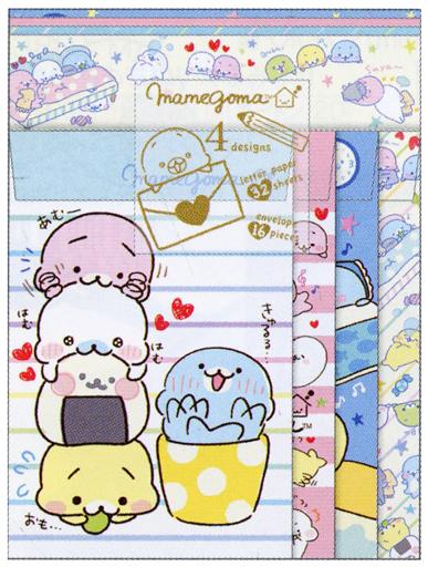 【新品】紙製品(キャラクター) ゆるまめライフ♪テーマ レターセット 「まめゴマ」