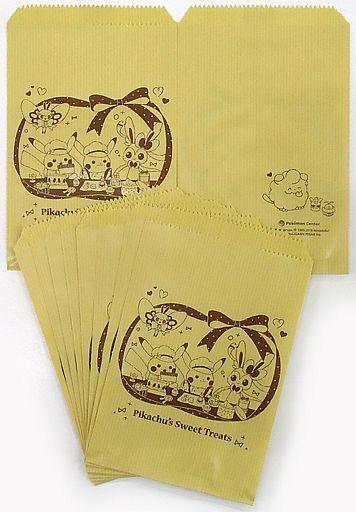 【中古】紙製品(キャラクター) ピカチュウ&アブリボン&ニンフィア ミニギフト袋 Pikachu's Sweet Treats Paper 「ポケットモンスター」 ポケモンセンター限定