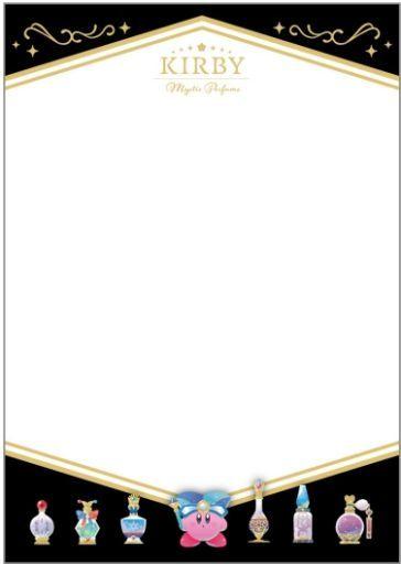 エンスカイ 予約 紙製品 星のカービィ KIRBY ミスティック・パフューム ミニメッセージカードセット