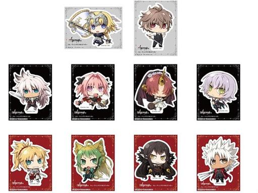 【新品】【ボックス】モバイル雑貨(キャラクター) 【ボックス】Fate/Apocrypha トレーディングスマホステッカー