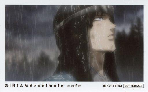 坂本辰馬 特製フォトカード 「銀魂×animatecafe」 フォトカードプレゼントキャンペーン 1回目特典