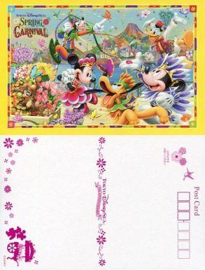 【中古】ポストカード(キャラクター) 集合(7人) ポストカード 「東京ディズニーシー・スプリングカーニバル2007」 東京ディズニーシー限定