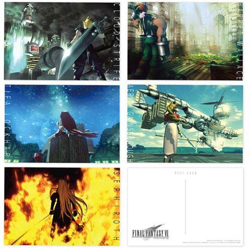 スクウェア・エニックス 新品 ポストカード 集合(イメージアート) ポストカードセット(5枚セット) 「ファイナルファンタジーVII」