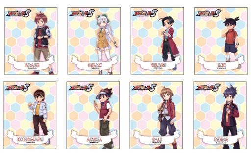 A3 新品 キャラカード 【ボックス】 メダロットS キャラフレームカード 01