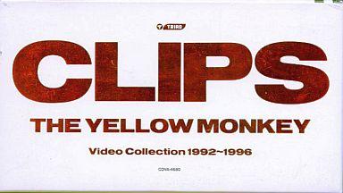 【中古】邦楽 VHS THE YELLOW MONKEY / クリップス-ビデオ・コレクション1992-1996