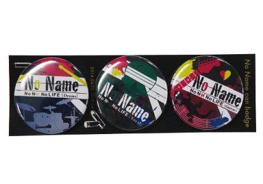 【進撃の巨人】NN缶バッジ3個セット リヴァイ&ハンジ&ミケ(チャコ) 第3回壁外調査博/アウトロー