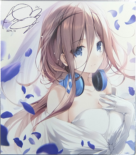 【五等分の花嫁】複製色紙 中野三玖(karory) COMIC1☆16/KAROMIX