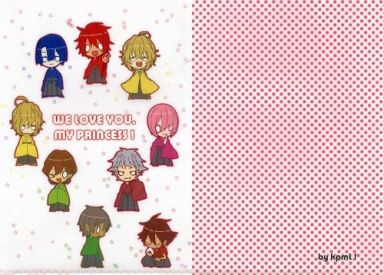 【うたの☆プリンスさまっ♪】A4クリアファイル 白ver.(タラ) C83/kpmL!