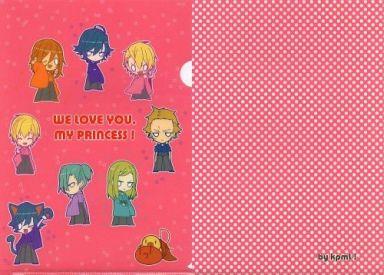 【うたの☆プリンスさまっ♪】A4クリアファイル ピンクver.(タラ) C83/kpmL!