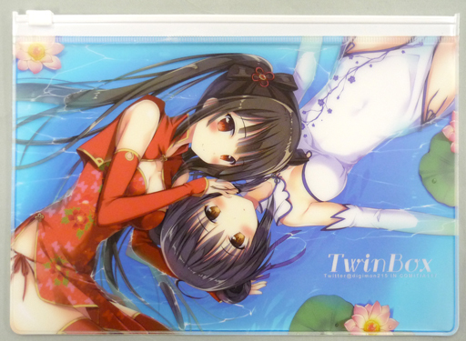 【オリジナル】ファスナーポーチ(草草饅&花花捲) コミティア117/Twin Box