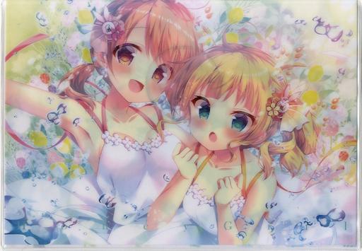 【ご注文はうさぎですか?】クリアクラッチバッグ ココア&シャロ(蜜桃まむ) C96/蜂蜜少女