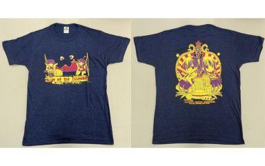 【中古】同人Tシャツ・衣装系 【艦隊これくしょん?艦これ?】一航戦の誇りTシャツ Lサイズ ネイビー 赤城&加賀(ミヤスリサ) 2014/D・N・A.Lab