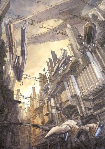 【オリジナル】A4ポスター 黄昏の世紀(K.Kanehira) /futuristic impression