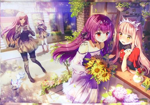【Fate】B2タペストリー メイヴ&スカサハ=スカディ C96/ROSUURI