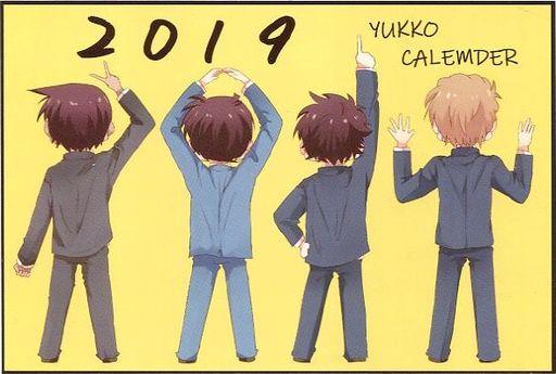 【名探偵コナン】2019年卓上カレンダー(しらすモチ) COMIC CITY大阪118/湯っこ