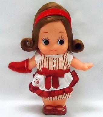 【中古】ドール おもてなしママキューピー人形 キューピー3分クッキング50周年プレゼントキャンペーン当選品