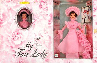 【中古】ドール Barbie as Eliza Doolittle in MyFairLady(ピンクドレスVer.) -バービー アズ イライザ・ドゥーリトル イン マイ・フェア・レディ- 「Barbie -バービー-」 HOLLYWOOD LEGENDS COLLECTION CollectorEdition