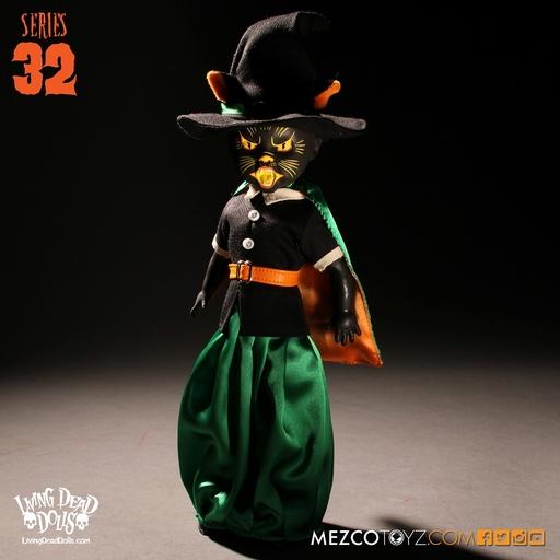 【中古】ドール Black cat witch -ブラックキャットウィッチ- 「リビングデッドドールズ」 シリーズ32