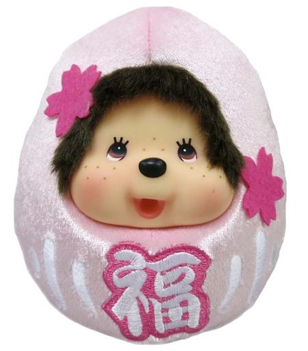 【中古】ドール だるまモンチッチ 桜 「モンチッチ」