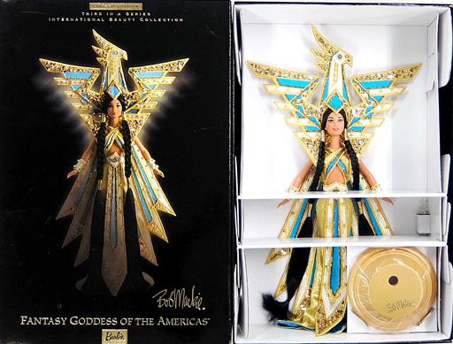 【中古】ドール [付属品欠品] Fantasy Goddess of the Americas Barbie Bob Mackie-ファンタジー ゴッデス オブ アメリカバービー ボブマッキー- 「Barbie -バービー-」 インターナショナル・ビューティー・コレクション リミテッドエディション